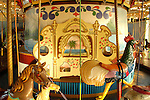 City of Salem Willows Park. Salem Willows Kiddieland carousel. 1866