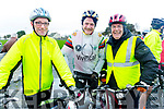 Ready for road at the Jimmy Duffy Memorial cycle in Blennerville on Saturday.<br /> L-r, Mike Ryle, Finbar Walsh and Pat O&rsquo;Riordan.