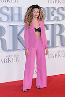 www.acepixs.com<br /> <br /> February 9 2017, London<br /> <br /> Ella Eyre arriving at the UK Premiere of 'Fifty Shades Darker' at the Odeon Leicester Square on February 9, 2017 in London, United Kingdom. <br /> <br /> By Line: Famous/ACE Pictures<br /> <br /> <br /> ACE Pictures Inc<br /> Tel: 6467670430<br /> Email: info@acepixs.com<br /> www.acepixs.com