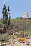 Washington Slagbaai National Park, Bonaire, Netherlands Antilles; view of the Seru Bentana lighthouse, near the northern most point on the island , Copyright © Matthew Meier, matthewmeierphoto.com All Rights Reserved