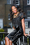JAMELIA, POP STAR, NOW A PANELLIST ON &quot;LOOSE WOMEN&quot; TV SHOW.<br /> TALKING OF HER EXPERIENCES OF SPOUSAL ABUSE TO ENCOURAGE OTHERS  TO GET AWAY FROM SIMILAR SITUATIONS.<br /> LONDON<br /> 27-11-2013 PIC BY IAN MCILGORM