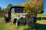 Rusted old truck in Southwest Montana.