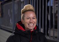 Boyds, MD - Saturday September 30, 2017: Joanna Lohman during a regular season National Women's Soccer League (NWSL) match between the Washington Spirit and the Seattle Reign FC at Maureen Hendricks Field, Maryland SoccerPlex.