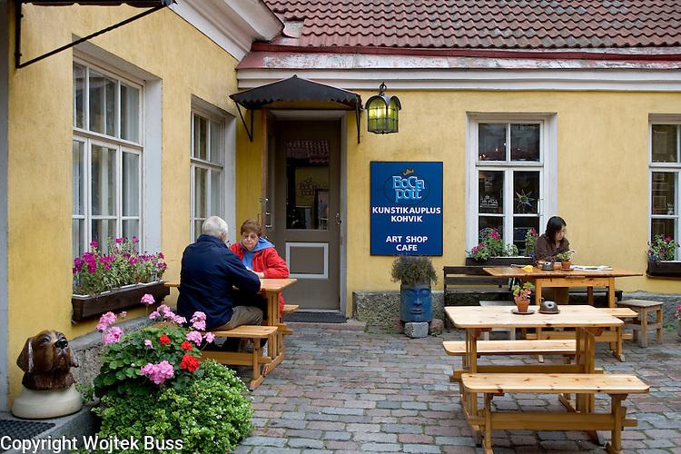 Estonia,Tallinn,BoCa Pott - Art shop cafe,Europe,Travel