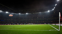 General view of the stadium in the first minute during the UEFA Europa League group stage match between Arsenal and FC Red Star Belgrade at the Emirates Stadium, London, England on 2 November 2017. Photo by PRiME Media Images.