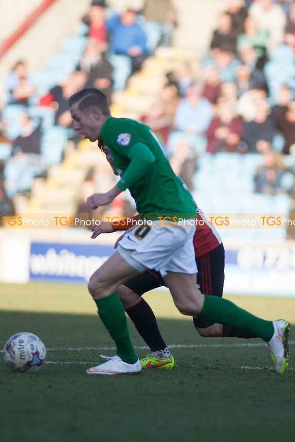 - Scunthorpe United vs Sheffield United - Sky Bet League One Football at Glanford Park, Scunthorpe, Lincolnshire - 14/03/15 - MANDATORY CREDIT: Mark Hodsman/TGSPHOTO - Self billing applies where appropriate - contact@tgsphoto.co.uk - NO UNPAID USE