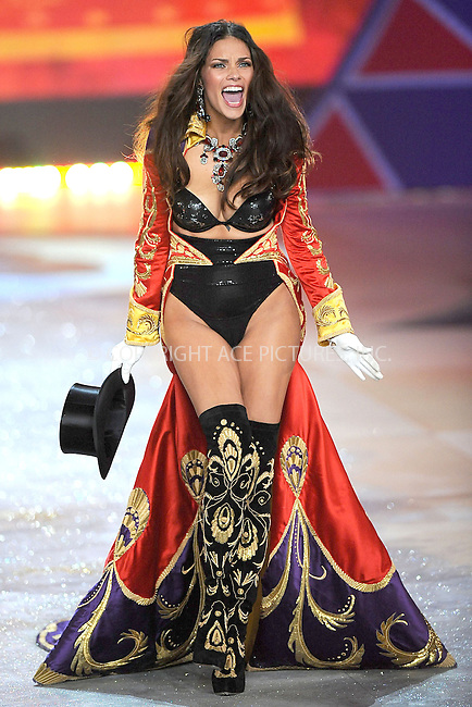 WWW.ACEPIXS.COM . . . . . .November 7, 2012...New York City.... Adriana Lima walks the runway during the 2012 Victoria's Secret Fashion Show at the Lexington Avenue Armory on November 7, 2012 in New York City ....Please byline: KRISTIN CALLAHAN - ACEPIXS.COM.. . . . . . ..Ace Pictures, Inc: ..tel: (212) 243 8787 or (646) 769 0430..e-mail: info@acepixs.com..web: http://www.acepixs.com .