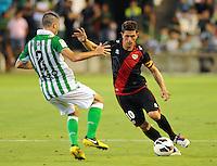 25AGO2012_LaLiga_Spain_RealBetisVSRayoVallecano_Piti Captain Rayo Vallecano
