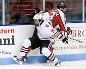 Cody Ferriero (Northeastern - 79), Joel Malchuk (RPI - 13) - The visiting Rensselaer Polytechnic Institute Engineers tied their host, the Northeastern University Huskies, 2-2 (OT) on Friday, October 15, 2010, at Matthews Arena in Boston, MA.