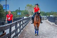 GER-Julia Krajewski rides Chipmunk FRH. 2018 FEI World Equestrian Games Tryon. Monday 10 September. Copyright Photo: Libby Law Photography