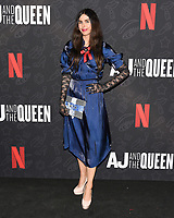 "10 January 2020 - Beverly Hills, California - Tama Leia. Netflix's ""AJ And The Queen"" Season 1 Premiere at The Egyptian Theatre in Hollywood. Photo Credit: Billy Bennight/AdMedia"