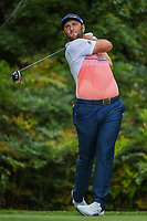 Jon Rahm (ESP) watches his tee shot on 13 during round 2 of the 2019 Tour Championship, East Lake Golf Course, Atlanta, Georgia, USA. 8/23/2019.<br /> Picture Ken Murray / Golffile.ie<br /> <br /> All photo usage must carry mandatory copyright credit (© Golffile | Ken Murray)