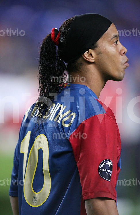 Fussball International Champions League 2006/2007  Gruppe A FC Barcelona 2 -0 SV Werder Bremen Ronaldinho (FCB)