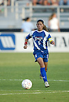 4 July 2003: Tiffany Roberts. The Carolina Courage defeated the Atlanta Beat 3-2 at SAS Stadium in Cary, NC in a regular season WUSA game.