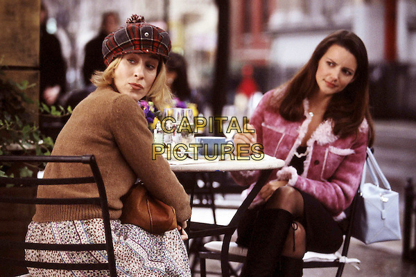 SARAH JESSICA PARKER & KRISTIN DAVIS.in Sex And The City.Filmstill - Editorial Use Only.Ref: FB.www.capitalpictures.com.sales@capitalpictures.com.©Capital Pictures