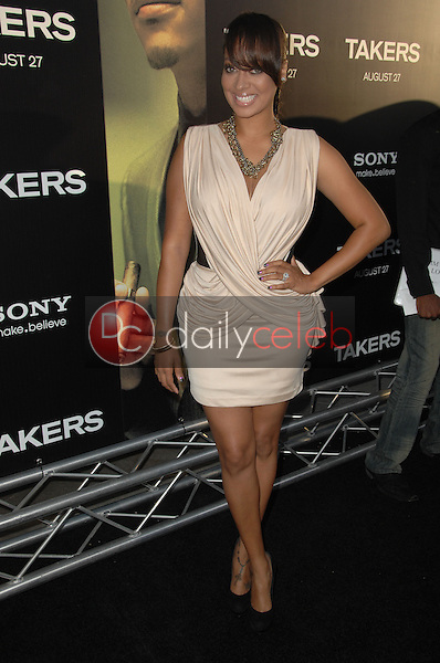 """LaLa Vazquez<br /> at the """"Takers"""" World Premiere, Arclight Cinerama Dome, Hollywood, CA. 08-04-10<br /> David Edwards/Dailyceleb.com 818-249-4998"""