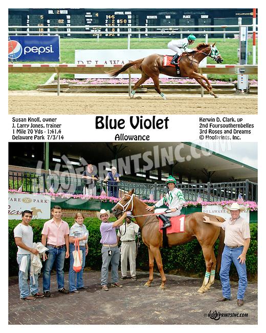 winning at Delaware Park on 7/3/14