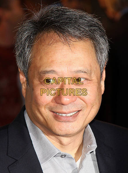 "ANG LEE .World Premiere of ""Amelia"" at the Paris Theater, New York, NY, USA, .20th October 2009..portrait headshot grey gray shirt .CAP/ADM/PZ.©Paul Zimmerman/AdMedia/Capital Pictures."