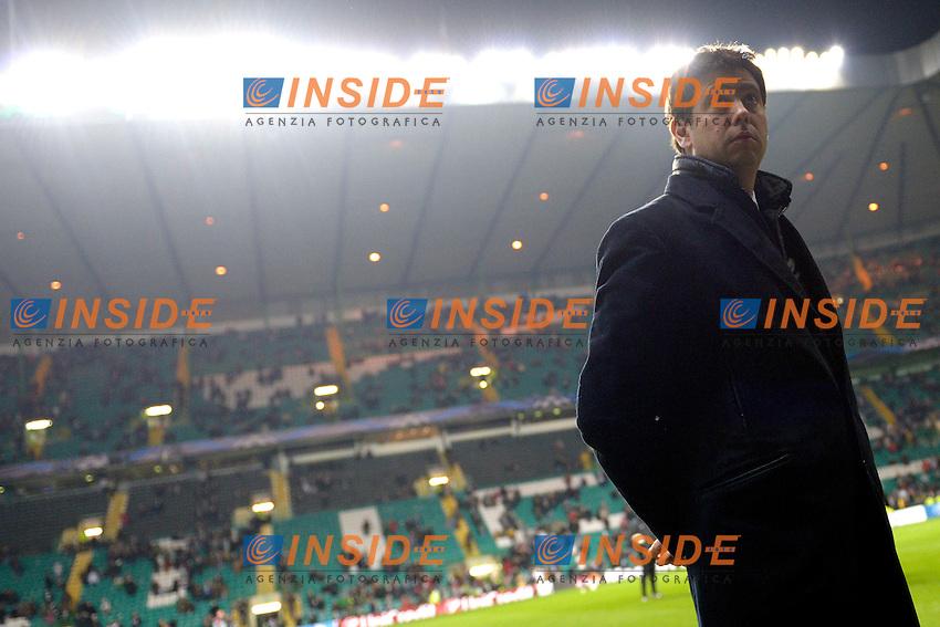 Andrea Agnelli  Juventus.Glasgow 12/02/2013 Celtic Park Stadium.Football Calcio Champions League Season 2012/13.Celtic Glasgow vs Juventus.Foto Insidefoto Federico Tardito