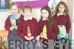 Pupils at Scoil Naomh Eirc in Kilmoyley who won a local art competition by O'Mahony's bookshop in Tralee. .L-RJessica O'Sullivan, Robert Monahan, Shannon Sheehan and Ellen Cooke.