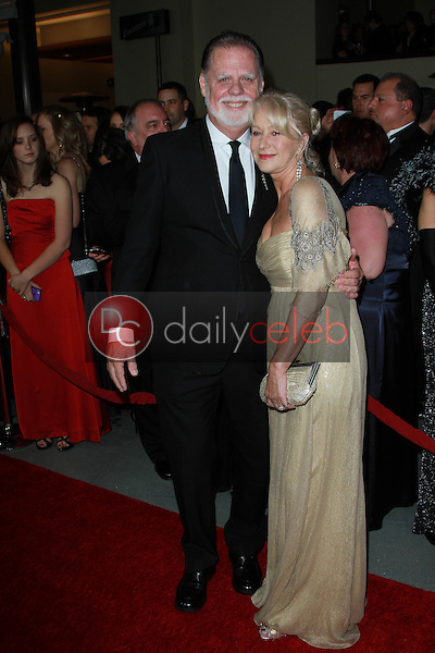 Taylor Hackford and Helen Mirren<br /> at the 64th Annual Directors Guild Of America Awards, Hollywood & Highland, Hollywood, CA 01-28-12<br /> David Edwards/DailyCeleb.com 818-249-4998