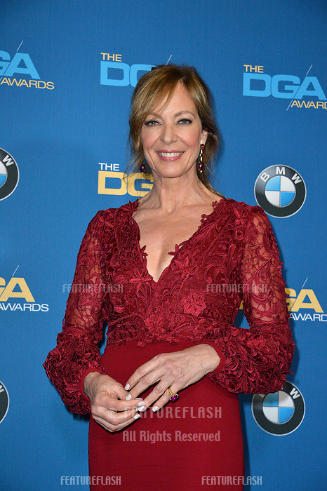 Allison Janney at the 70th Annual Directors Guild Awards at the Beverly Hilton Hotel, Beverly Hills, USA 03 Feb. 2018<br /> Picture: Paul Smith/Featureflash/SilverHub 0208 004 5359 sales@silverhubmedia.com