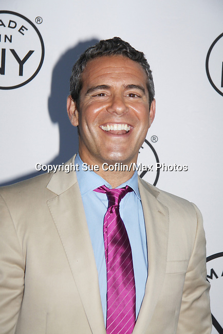 "Bravo's Andy Cohen (executive vice-president of original programming and development) and host of  ""Watch What Happens Live"" attends the 6th Annual ""Made in NY"" Awards hosted by 2011 Mayor Michael Bloomberg and Commissioner Katherine Oliver on June 6, 2011 at Gracie Mansion, New York City, New York. (Photo by Sue Coflin/Max Photos)"