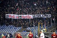 Roma supporters <br /> Roma 16-12-2018 Stadio Olimpico<br /> Football Calcio Campionato Serie A<br /> 2018/2019 <br /> AS Roma - Genoa<br /> Foto Antonietta Baldassarre / Insidefoto