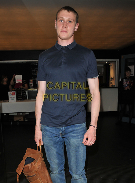 George MacKay at the &quot;Disco Pigs&quot; press night, Trafalgar Studios, Whitehall, London, England, UK, on Tuesday 18 July 2017.<br /> CAP/CAN<br /> &copy;CAN/Capital Pictures