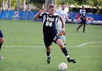 Florida International University men's soccer player Andri Alexandersson (24) plays against Stetson University on September 10, 2011 at Miami, Florida.  FIU won the game in overtime 3-2. .