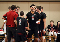 STANFORD, CA; January 14, 2017; Men's Volleyball, Stanford vs Ohio State.