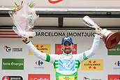 25th March 2018, Barcelona, Spain; Volta a Catalunya 2018 Cycling, Stage 7;  Alejandro Valverde of Movistar TEAM on the podium as he  and wins the tour