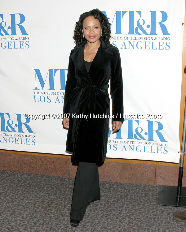 """Gina Ravera.""""The Closer"""" Honored by the.24th Annual William S. Paley Television Festival.Museum of TV & Radio.Director's Guild.Los Angeles, CA.March 6, 2007.©2007 Kathy Hutchins / Hutchins Photo..."""