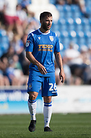 Luke Gambin of Colchester United during Colchester United vs Northampton Town, Sky Bet EFL League 2 Football at the JobServe Community Stadium on 24th August 2019