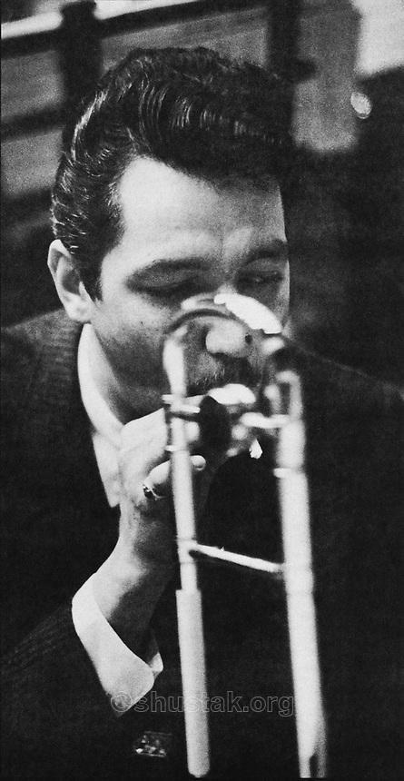 Frank Rehak, trombonist.