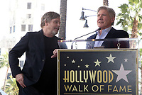 08 March 2018 - Hollywood, California - Mark Hamill, George Lucas. Mark Hamill Honored With Star On The Hollywood Walk Of Fame.  <br /> CAP/ADM/FS<br /> &copy;FS/ADM/Capital Pictures