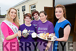 Kerry Rose Danielle O'Sullivan and Julette Culloty the 2015 Kerry Rose with l-r: Martina O'Riordan, Craig O'riordan, and Anna Marie Daly at the Alzeimers Society of Ireland tea party in the Kilcummin hall on Saturday
