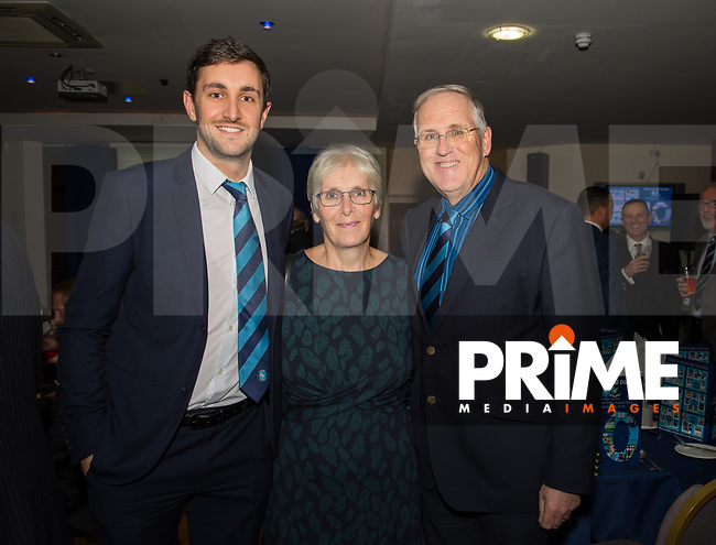 during the WWEPA Tenth Annual Dinner at Adams Park, High Wycombe, England on 23 November 2018. Photo by Andrew Aleksiejczuk / PRiME Media Images.