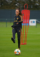 20191006 TUBIZE: Red Flames' Tessa Wullaert pictured at the Open Training of Red Flames on Sunday 6th of October 2019, Tubize, Belgium  PHOTO SPORTPIX.BE | SEVIL OKTEM