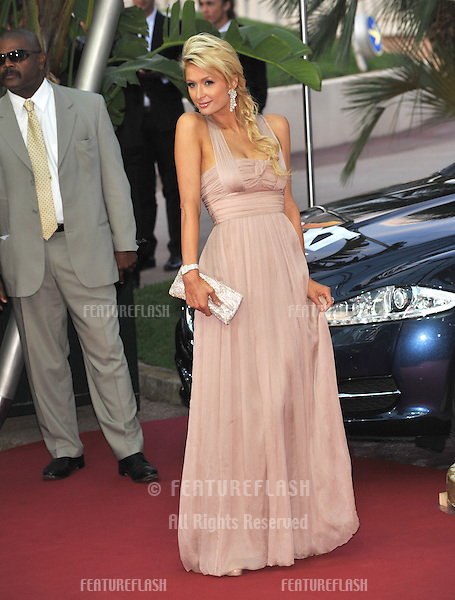 Paris Hilton at the 2010 World Music Awards at the Monte Carlo Sporting Club, Monaco..May 18, 2010  Monaco, France.Picture: Paul Smith / Featureflash