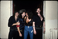 Motorhead portraits photographed backstage in Chicago, Illinois, December 13th 1986  <br /> CAP/MPI/GA<br /> ©GA//MPI/Capital Pictures