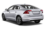 Car pictures of rear three quarter view of 2018 Volvo S60 T5 4 Door Sedan Angular Rear