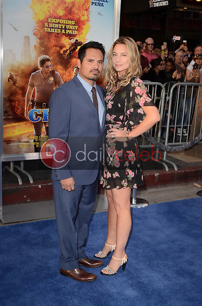"""Michael Pena<br /> at the """"Chips"""" Los Angeles Premiere, TCL Chinese Theater, Hollywood, CA 03-20-17<br /> David Edwards/DailyCeleb.com 818-249-4998"""