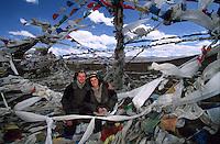 Christiane Kappes mit Stephan Kappes Himalaya, Tibet
