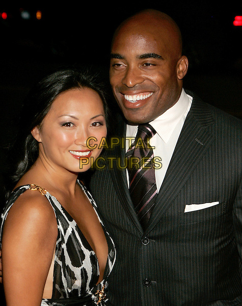 TIKI BARBER & GUEST.The Fresh Air Fund Salute to American Heros, New York, NY, USA..June 1st, 2006.Photo: Jackson Lee/Admedia/Capital Pictures.Ref: JL/ADM.headshot portrait.www.capitalpictures.com.sales@capitalpictures.com.© Capital Pictures.