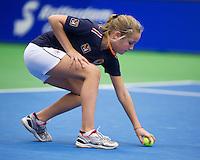 13-12-12, Rotterdam, Tennis Masters 2012,Ballgirl