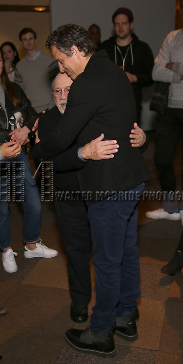 Danny DeVito and Mark Ruffalo attends the photocall for the Roundabout Theater Company production of Arthur Miller's 'The Price' at The Roundabout Theatre Studios on January 19, 2017 in New York City.