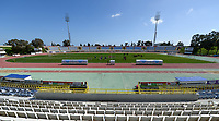 20180228 - LARNACA , CYPRUS :  illustration picture of the stadium before a women's soccer game between The Belgian Red Flames and the Czech Republic , on wednesday 28 February 2018 at GSZ Stadium in Larnaca , Cyprus . This is the first game in group B for Belgium during the Cyprus Womens Cup , a prestigious women soccer tournament as a preparation on the World Cup 2019 qualification duels. PHOTO SPORTPIX.BE | DAVID CATRY