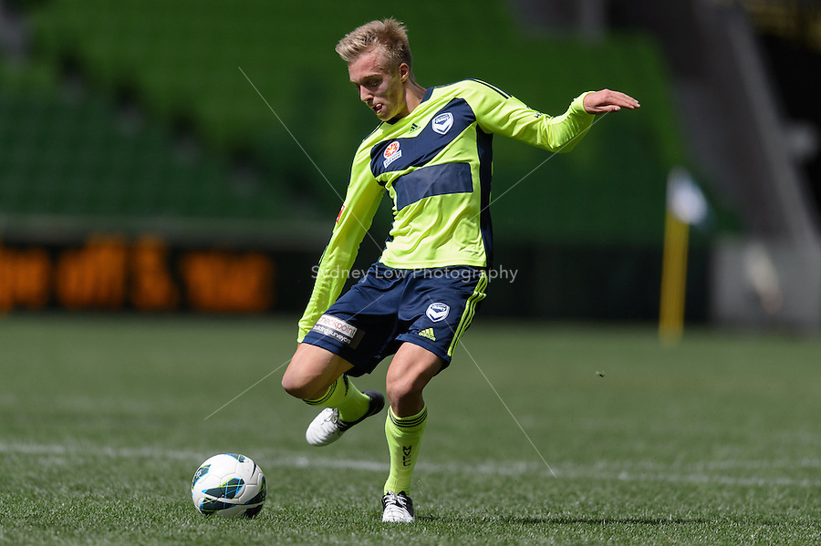 MELBOURNE - 23 September: Melbourne Victory Intra-club match at AAMI Park on 23 September 2012. (Photo by Sydney Low / syd-low.com)