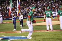 Yovani Gallardo.<br /> Aspectos del partido Mexico vs Italia, durante Cl&aacute;sico Mundial de Beisbol en el Estadio de Charros de Jalisco.<br /> Guadalajara Jalisco a 9 Marzo 2017 <br /> Luis Gutierrez/NortePhoto.com